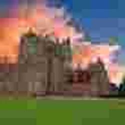Ominous Glamis Castle